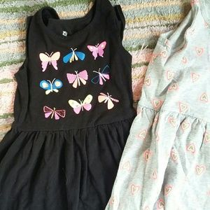 Two Girls dresses 9.00